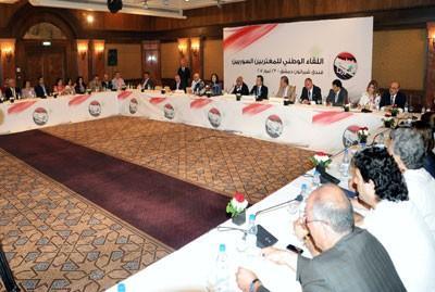 اللقاء الوطني للمغتربين السوريين: تأييد الإصلاح والرفض القاطع لكل أشكال التدخل الأجنبي في الشأن السوري  -4e2bc6a0e63b2